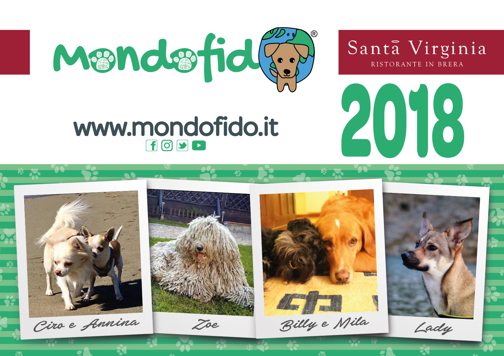 Acquista il calendario di Mondofido.it