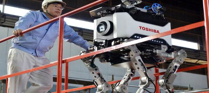 Un cane robot per bonificare Fukushima