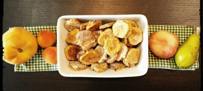 Biscotti Vitaminici alla Frutta con avanzi dell'Estrattore di Succo