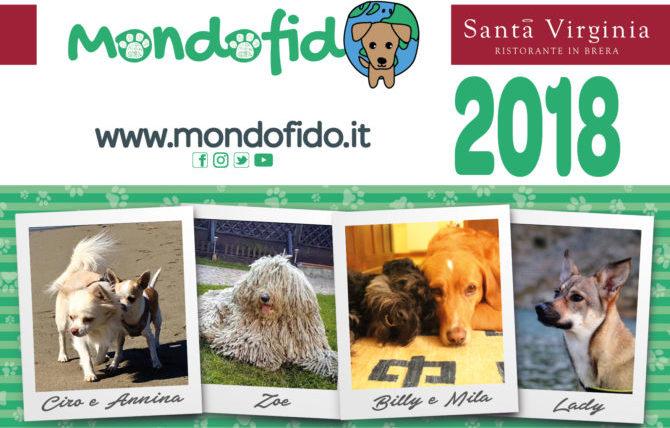 È arrivato il calendario 2018 di Mondofido