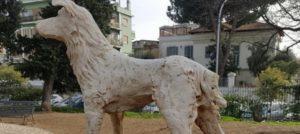 Roma, distrutta la statua di Angelo