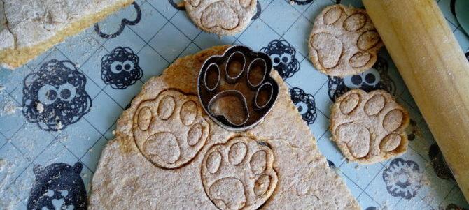 Biscotti alla Mela per i nostri cani